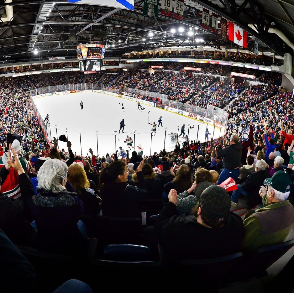 scotiabankcentre - mooseheads game