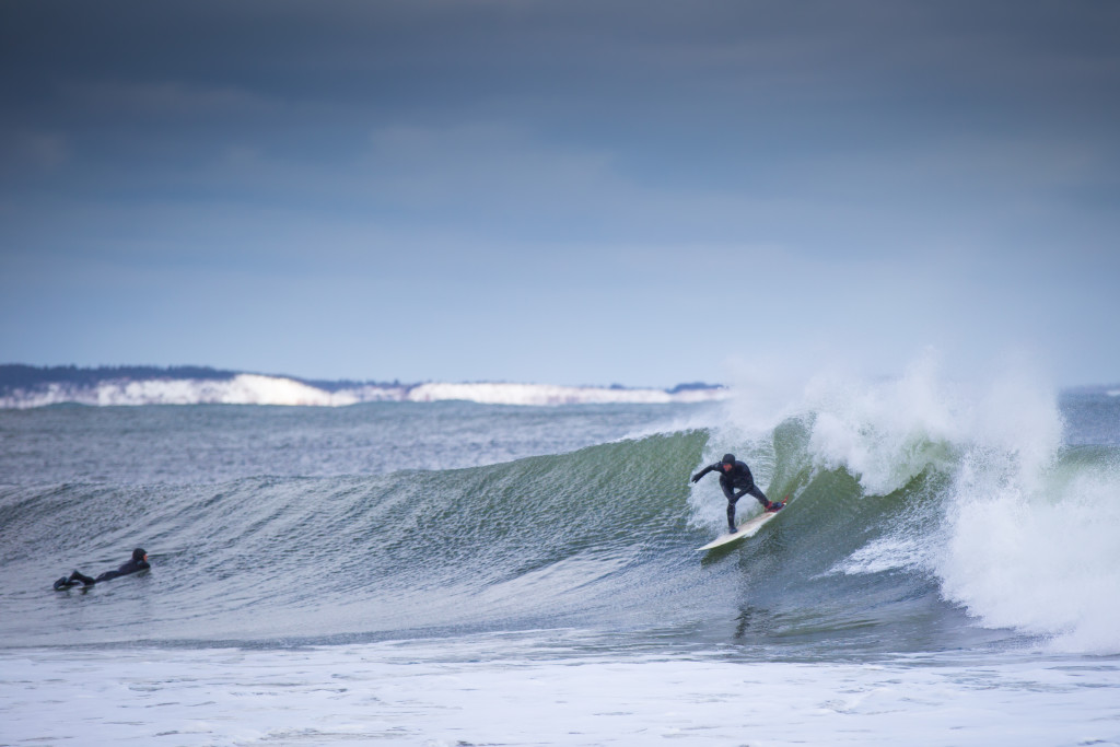 Winter Surfing at Lawrencetown