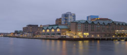 Hotel view from the Halifax harbourfront